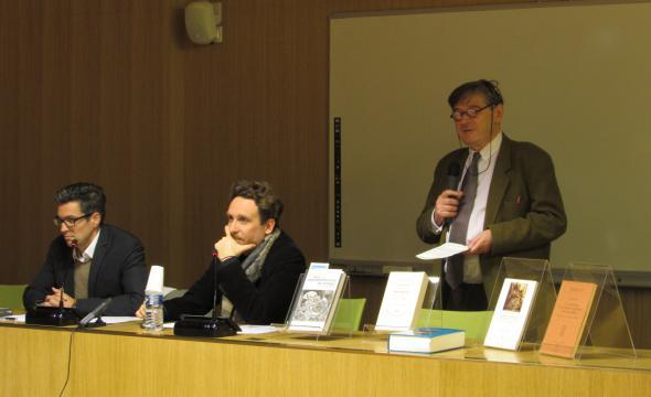 Débat autour du livre de Sylvio De Franceschi (prom. 1999) Les intermittences du temps. Lire Alphonse Dupront, avec Guillaume Cuchet