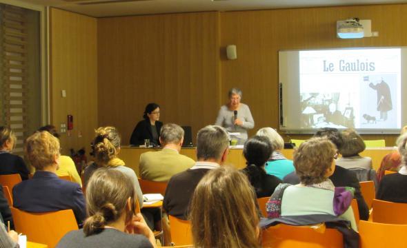 Conférence de Martine Kahane sur le Fantôme de l'Opéra