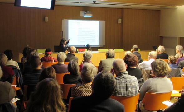 Conférence d'Agnès Chauvin