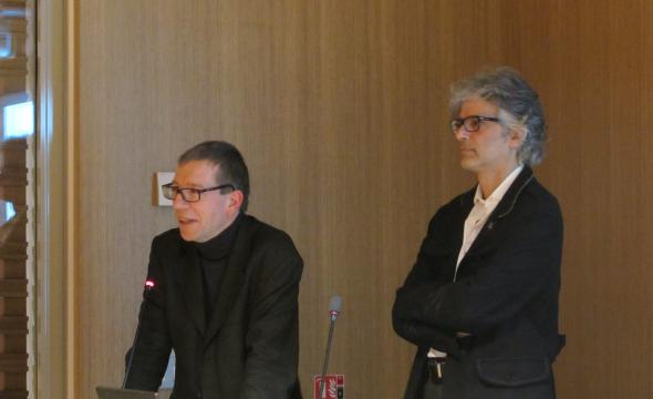 Conférence de Richard Trachsler, invité par Frédéric Duval