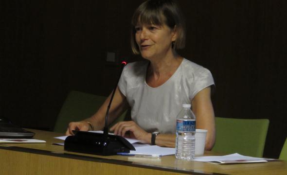 Conférence d'Isabelle Diu sur la bibliothèque littéraire de Jacques Doucet