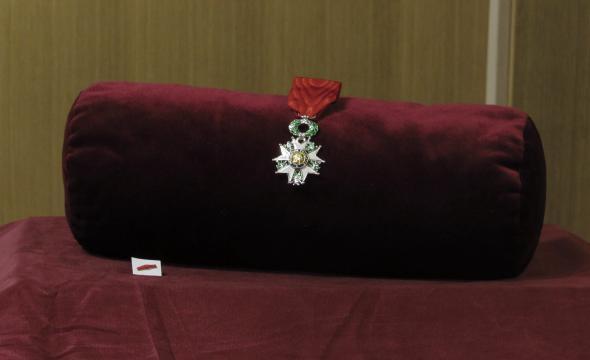 Insignes de chevalier de la Légion d'honneur
