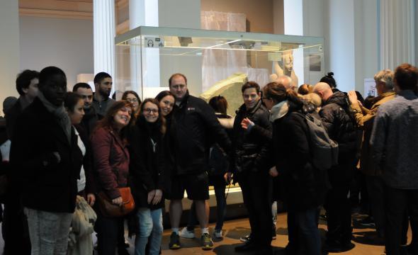 Visite du British Museum par les sélections de PSL et de l'UCL