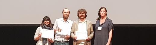 Jean-Baptiste Camps, Thibault Clérice et Ariane Pinche remportent le prix Fortier de la Digital Humanities Conference 2019