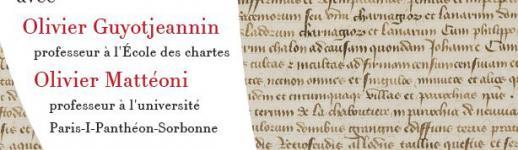 Affiche «Entre princes et roi: les actes de Jean de Berry, fils de roi de France»