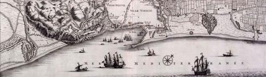 Plan de Barcelone de 1706