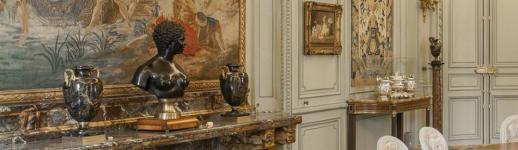 Salle à manger au musée des Arts décoratifs