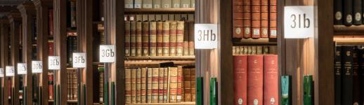Magasins de la bibliothèque de l'École des chartes, au 12, rue Petits-Champs
