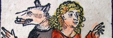 Gravure extraite de La Chronique de Nuremberg, écrite par Hartmann Schedel (1493)