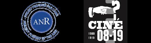 Logos ANR et CINÉ08-19