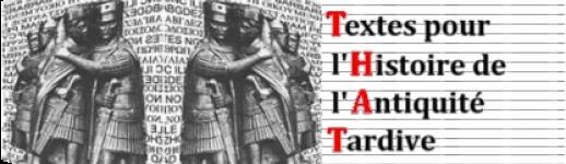 Textes pour l'histoire de l'Antiquité tardive
