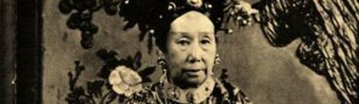 L'impératrice Cixi, en 1902