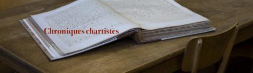 Chroniques chartistes