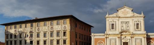 La Piazza dei Cavalieri avec la Scuola Normale Superiore à Pise