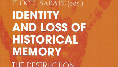 Couverture de l'ouvrage Identity and Loss of Historical Memory