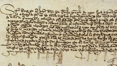 Acte notarial (1426)
