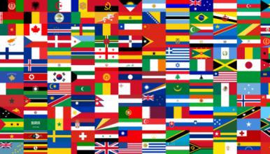 Drapeaux des pays