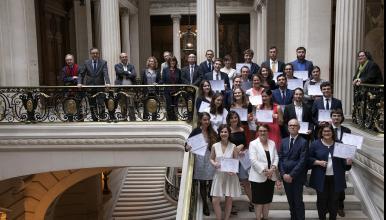 Cérémonie 2019 de remise des diplômes d'archiviste paléographe à la Sorbonne