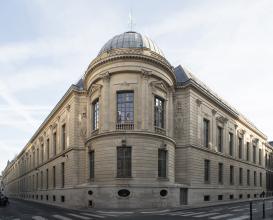 Façade de la bibliothèque au 12, rue des Petits-Champs