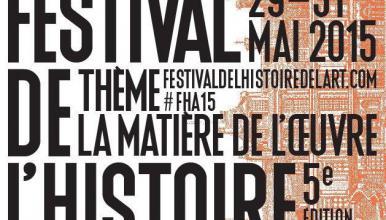 Festival de l'histoire de l'art affiche 2015