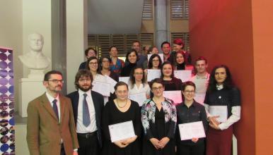 Félicitations aux diplômés 2018 du master «Technologies numériques appliquées à l'histoire»