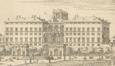 Palais Mazarin à Rome